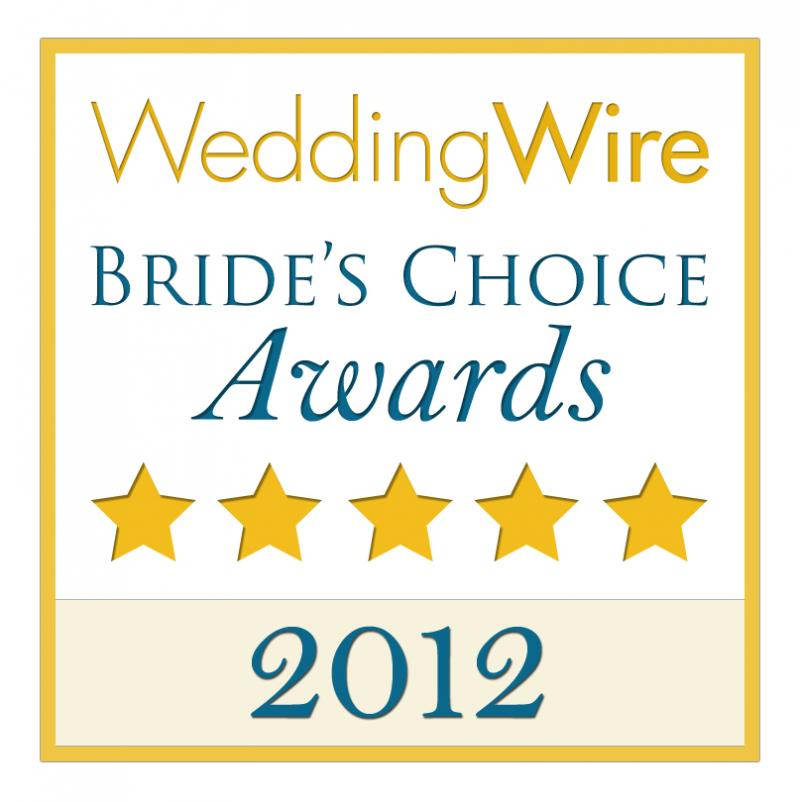 Christopher Rude Bride's Choice 2012 Award Winner